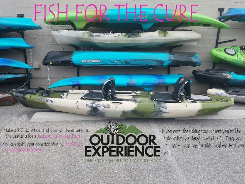 Kayak fishing tournament to be benefit Susan G Komen scheduled April 15th