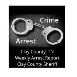 Clay County, TN arrest report April 3 - 10